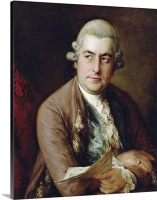 Portrait of Johann Christian Bach