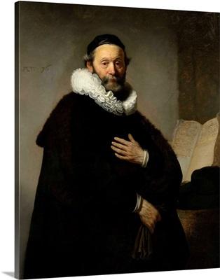 Portrait of Johannes Wtenbogaert, 1633