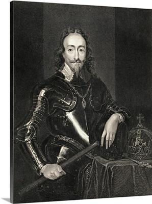 Portrait of King Charles I (1600-49)