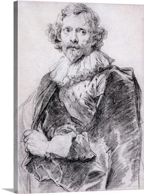 Portrait of Lucas Vorsterman, c.1631