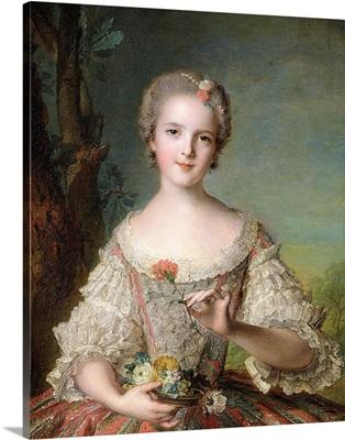 Portrait of Madame Louise de France (1737-87) at Fontevrault, 1748