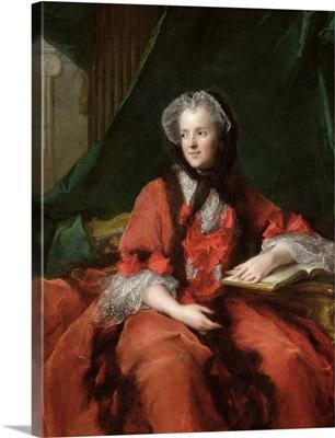 Portrait of Madame Maria Leszczynska (1703-68) 1748