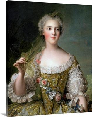 Portrait of Madame Sophie (1734-82), daughter of Louis XV, at Fontevrault