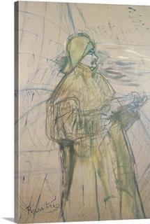 Portrait of Maurice Joyant (1864 1930) 1900 (pastel & pencil on paper)