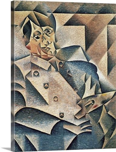 Portrait of Pablo Picasso (1881 1973) 1912 Wall Art, Canvas Prints ...