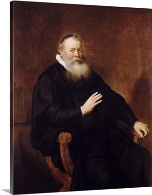 Portrait of Pastor Eleazer Swalmius, 1637 42
