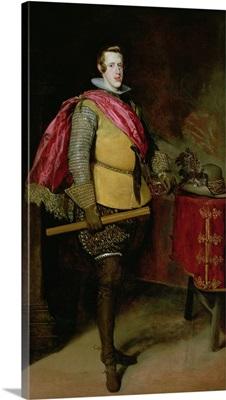 Portrait of Philip IV (1605-65) of Spain