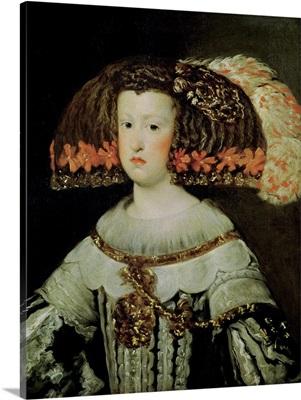 Portrait of Queen Maria Anna (1635-96) of Spain