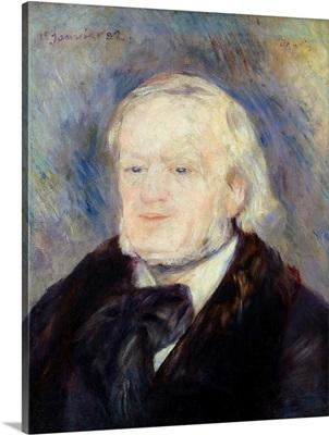 Portrait of Richard Wagner (1813 83) 1882