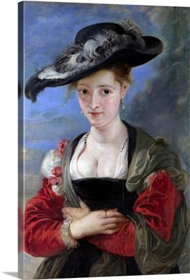 Portrait of Susanna Lunden c. 1622-5