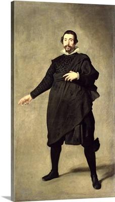 Portrait of the Buffoon Pablo de Valladolid, c.1632