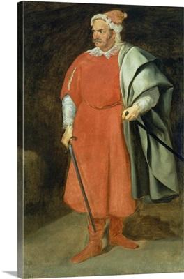 Portrait of the Buffoon Redbeard, Cristobal de Castaneda, c.1636