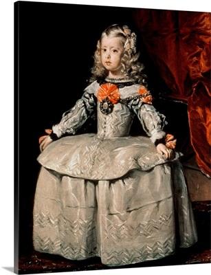 Portrait of the Infanta Margarita (1651-73) Aged Five, 1656