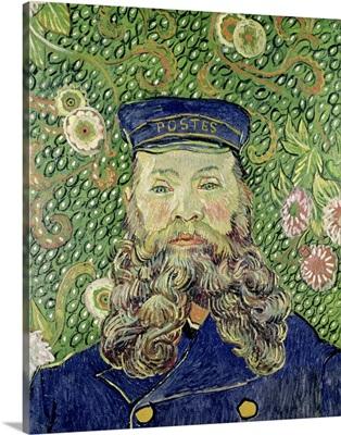 Portrait of the Postman Joseph Roulin, 1889