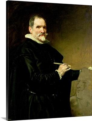 Portrait of the Sculptor, Juan Martinez Montanes (1568-1649) 1635