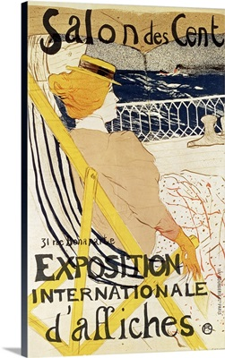 Poster advertising the Exposition Internationale dAffiches, Paris, c.1896
