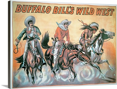 Poster for Buffalo Bill's (1846-1917) Wild West Show, 1898