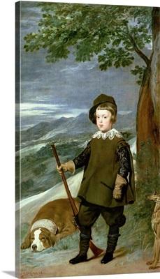 Prince Balthasar Carlos (1629-49) Dressed as a Hunter, 1635-36