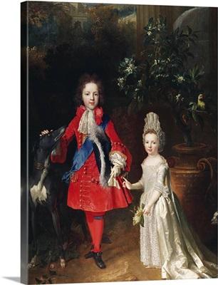 Prince James Francis Edward Stuart and Princess Maria Theresa Stuart