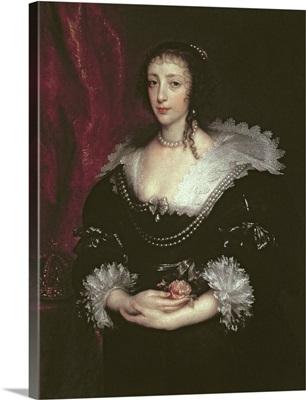 Queen Henrietta Maria (1609 1669), Queen consort of Charles I of England, 1632