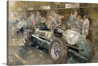 R. Parnell's Maserati
