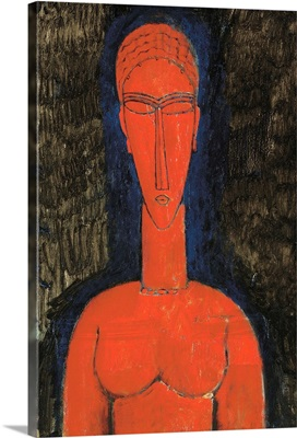 Red Bust, Caryatid, 1913 (oil on canvas)