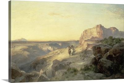 Red Rock Trail, South Utah, 1913