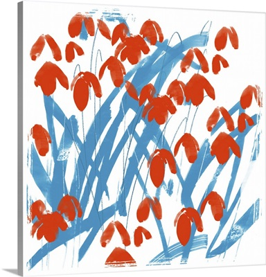 Red Snowdrops