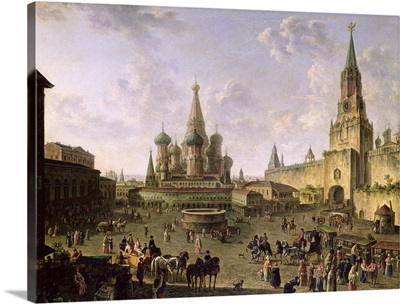 Red Square, Moscow, 1801