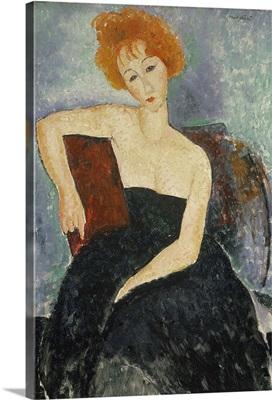 Redheaded Girl In Evening Dress, 1918