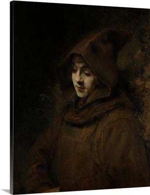 Rembrandt's Son Titus in a Monk's Habit, 1660