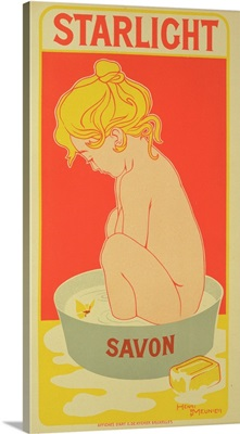 Reproduction of a poster advertising 'Starlight Soap', 1899