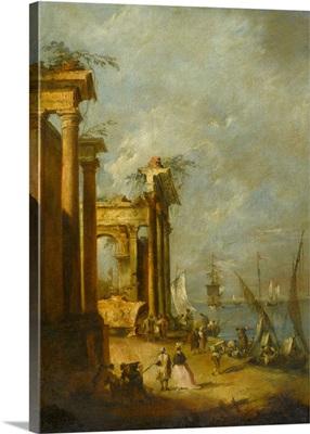 Roman Ruins Near The Lagoon, C1765-1775