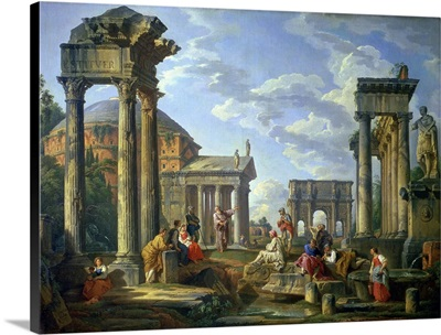 Roman Ruins with a Prophet, 1751