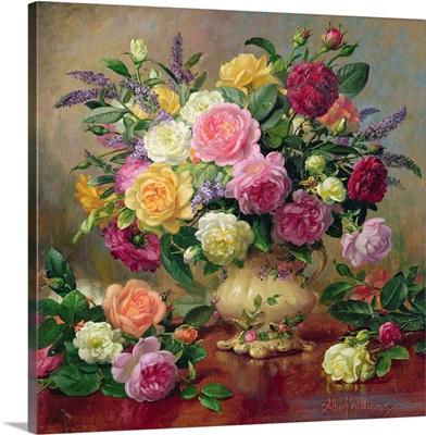 Roses from a Victorian Garden