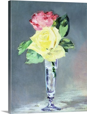 Roses in a Champagne Glass, c.1882