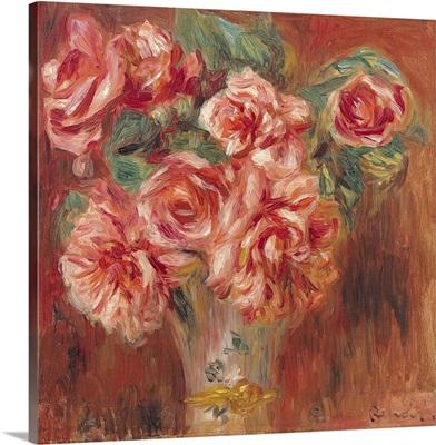 Roses in a Vase, c.1890