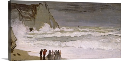 Rough Sea at Etretat, 1868 69