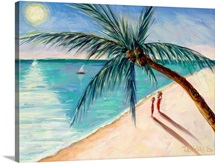 Rustling Palm, 2004 (oil on canvas)