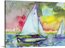 Sailboat Evening