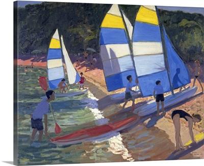 Sailboats, South of France, 1995