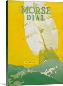 'Sailing Vessel,' front cover of the 'Morse Dry Dock Dial', December 1921