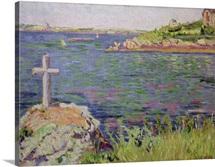 Saint Briac, the Sailors Cross, 1885 (oil on canvas)