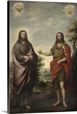 Saint John the Baptist Pointing to Christ, c.1655