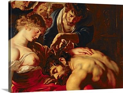 Samson and Delilah, c.1609