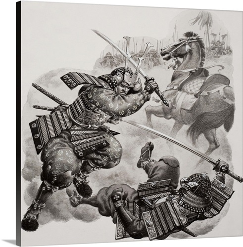 Samurai Wall Art, Canvas Prints, Framed Prints, Wall Peels | Great ...