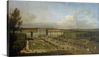 Schonbrunn Palace and gardens, 1759-61