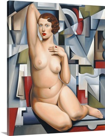Seated Cubist Nude