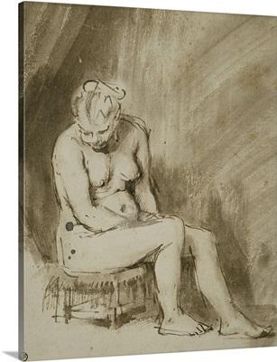 Seated Female Nude, 1660-62