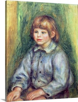 Seated Portrait of Claude Renoir (1901 81) 1905 08